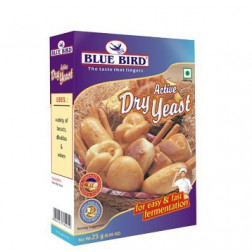 BLUE BIRD ACTIVE DRY YEAST 25 GMS