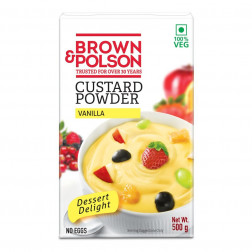 BROWN & POLSAN CUSTARD POWDER VANILLA 500 GMS