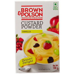 BROWN & POLSAN CUSTARD POWDER VANILLA 100 GMS