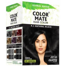 Color Mate Hair Color Natural Black (pack of 6)