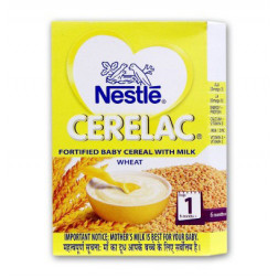 NESTLE CERALAC WHEAT (STAGE 1) 300GMS