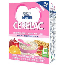 NESTLE CERELAC WHEAT RICE MIXED FRUITS (STAGE 3) 300 GMS