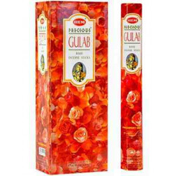Hem Precious Gulab Incense Sticks Pack Of 2